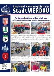 Rettungskräfte stellen sich vor - Stadt Werdau