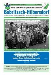 Amts- und Mitteilungsblatt der Gemeinde - Gemeinde Hilbersdorf