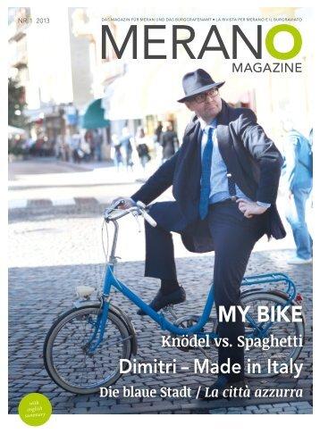 Merano Magazine - Sommer 2013