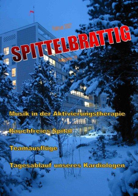 """""""Spittelbrattig"""" Nr. 19, Februar 2007 - Kantonsspital Uri"""