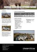 NAMIBIA KAOKOVELD OFFROAD SAFARI - Dreamtime Travel - Seite 2