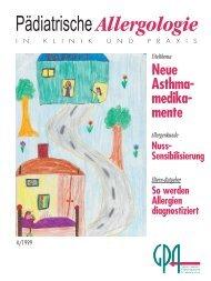 interstitielle Fibrose - Gesellschaft für Pädiatrische Allergologie und ...