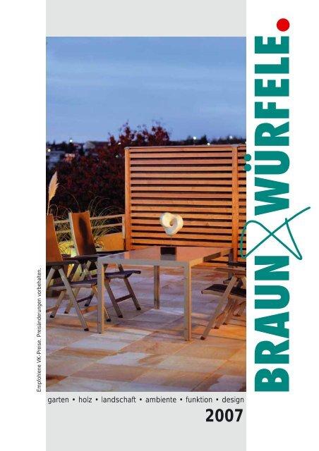 garten • holz • landschaft • ambiente • funktion • design - Nutzholz May