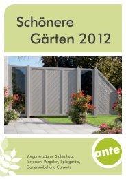 Schönere Gärten 2012 - An Aus Licht