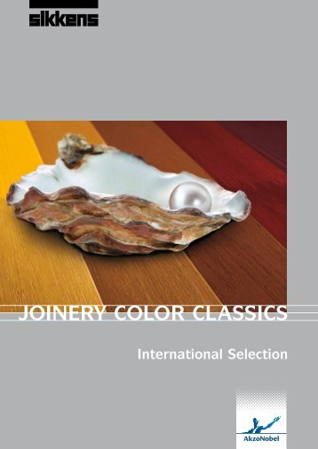 Download Joinery Color Classics (pdf) - Sikkens