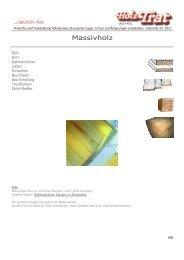 H06 Bauholz, BSH KVH - Holz-TRAT Ideen in Holz