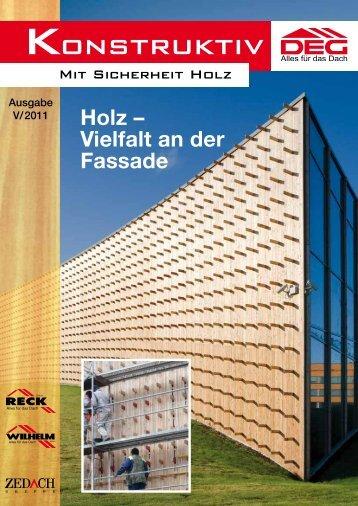 konstruktiv - DEG Alles für das Dach eG