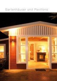 Gartenhäuser und Pavillons - Scheiwe-Holz