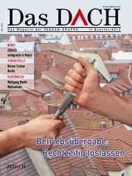 Betriebsübergabe: Rechtzeitig loslassen - DEG Alles für das Dach eG