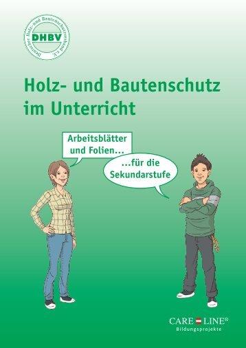 Holz- und Bautenschutz im Unterricht - unterrichtsmappen.care ...