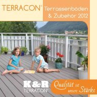 TERRACON® - Trendholz