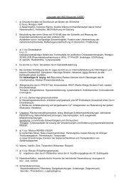 Lösungen der HNO-Klausuren - Biochemie - Nachhilfe