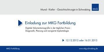 Einladung zur MKG Fortbildung - Dr. Dr. Roth und M. Morche Zahn ...