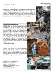 Life März 2011 - Lebenshilfewerk Marburg - Biedenkopf e.V.
