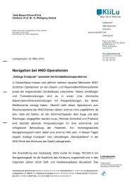 Navigation bei HNO-Operationen - Klinikum Ludwigshafen