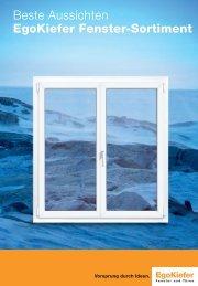Beste Aussichten EgoKiefer Fenster-Sortiment - Cahenzli AG