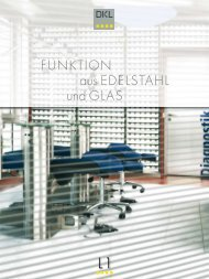FUNKTION aus EDELSTAHL und GLAS - Dental Union