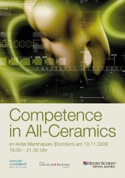 Competence in All-Ceramics - Zahnarzt DDr. Kapeller Bregenz