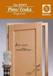 Katalog Türen Pino & Toska