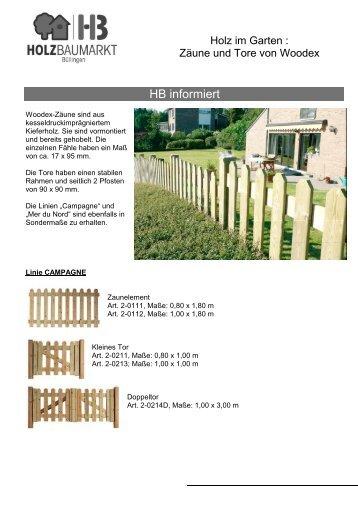 PR Zaunelemente Woodex