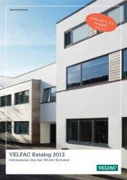 VELFAC Katalog 2013 - VELFAC Fenster
