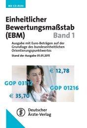 EBM - Kassenärztliche Vereinigung Thüringen
