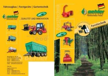 Forsttechnik - Oehler Maschinen