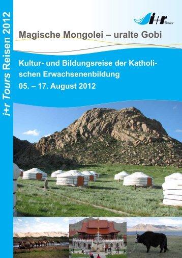i+r T ours Reisen 2012 - KEB-Regensburg