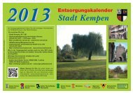 Kempen 13 - Schönmackers Umweltdienste GmbH & Co KG