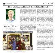 zum Download des Kirchenabschnitts - Sankt Petri Schule