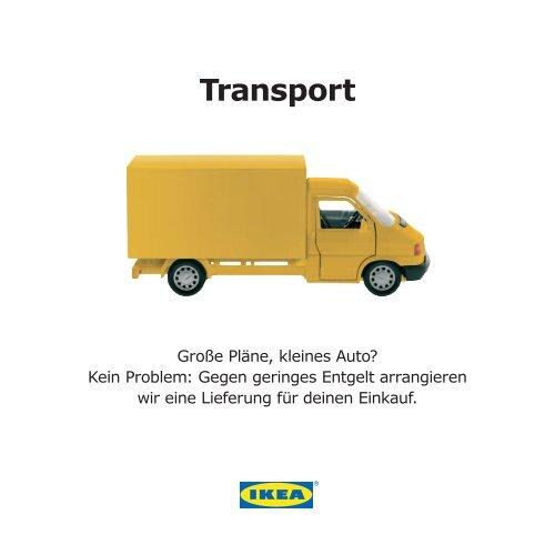 Servicekarte Transport Ikea Expo Park Hannover Ausdrucken