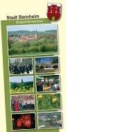 Herzlich willkommen - Stadt Steinheim