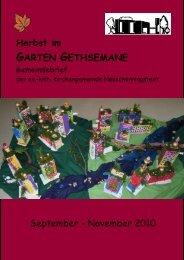 GMD Brief September bis November 10-1 - Kirchengemeinde ...