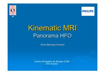 Kinematic MRI - Pages