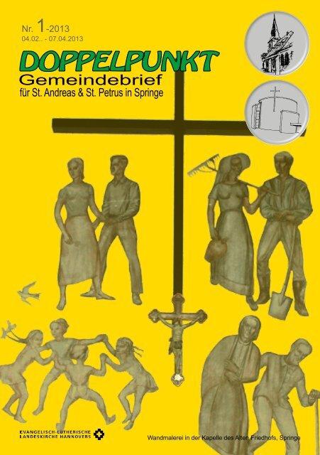 Nr. 1-2013 - Sankt Petrus Kirche Springe