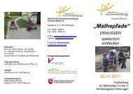 """""""Mathepfade"""" - Katholische Erwachsenenbildung im Lande ..."""