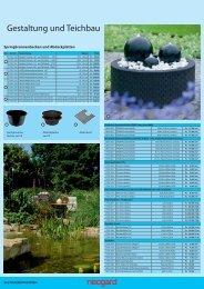 Gestaltung und Teichbau