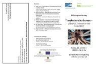 Transkulturelles Lernen – - Sachsen-Anhalt