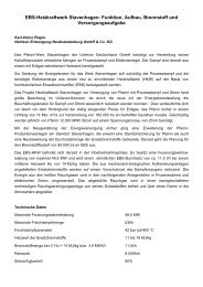 EBS-Heizkraftwerk Stavenhagen- Funktion, Aufbau, Brennstoff und ...