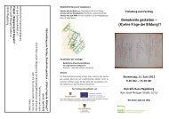 Flyer zur Veranstaltung - katholische Erwachsenenbildung im Land ...