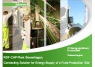 RDF-CHP Plant Stavenhagen, CHP Plant ... - Ziua Energiei