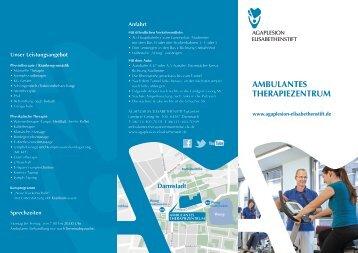 ambulantes therapiezentrum - AGAPLESION ELISABETHENSTIFT