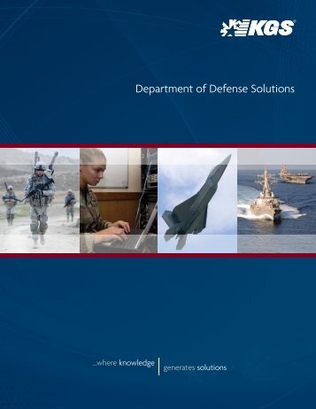 Department of Defense Solutions - KGS