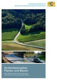 Kostenbewusstes Planen und Bauen - Bayerisches ...