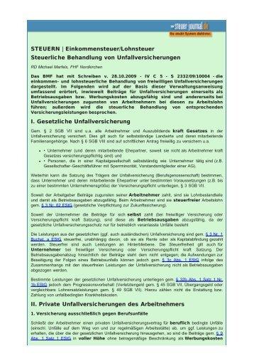 STEUERN - Steuer-Fachschule Dr. Endriss
