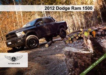 2012 Dodge Ram 1500 - Auto Magnus