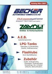 Katalog Zavoli by Becker Automobile GmbH & Co