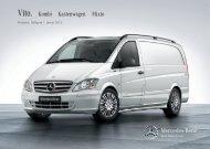 Preisliste Vito - Mercedes-Benz Deutschland