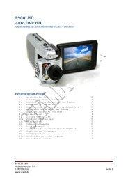 F900LHD Auto DVR HD