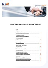 Alles zum Thema Autokauf und -verkauf - Zur R+V24